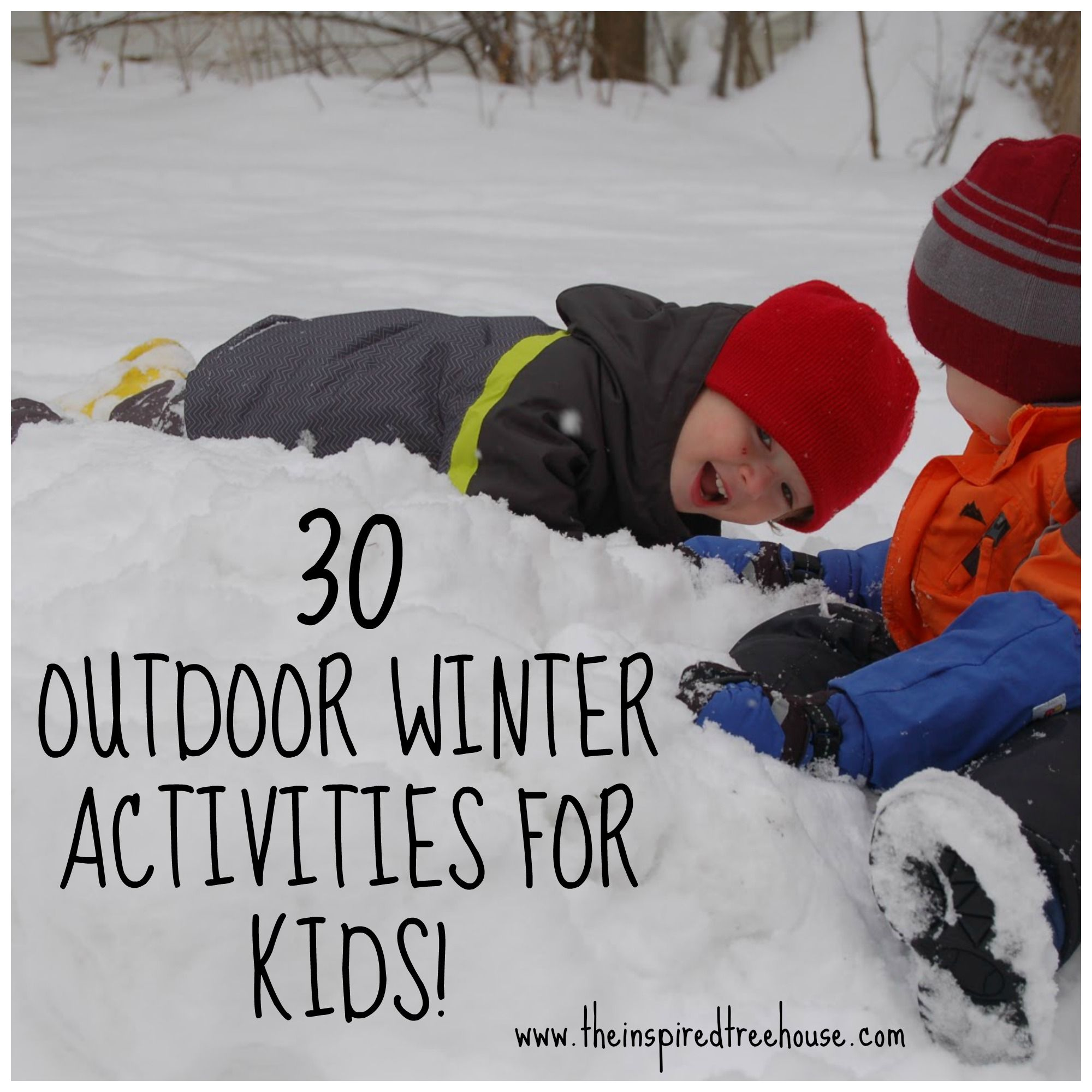 winter outdoor activities. A Awesome List Of 30 Outdoor Winter Activities For Kids From Occupational And Physical Therapists. There Is No Better Season Gross Motor,