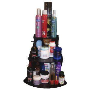 Corner Shelf Cosmetic Organizer H Great For Organizing - Bathroom counter makeup organizer