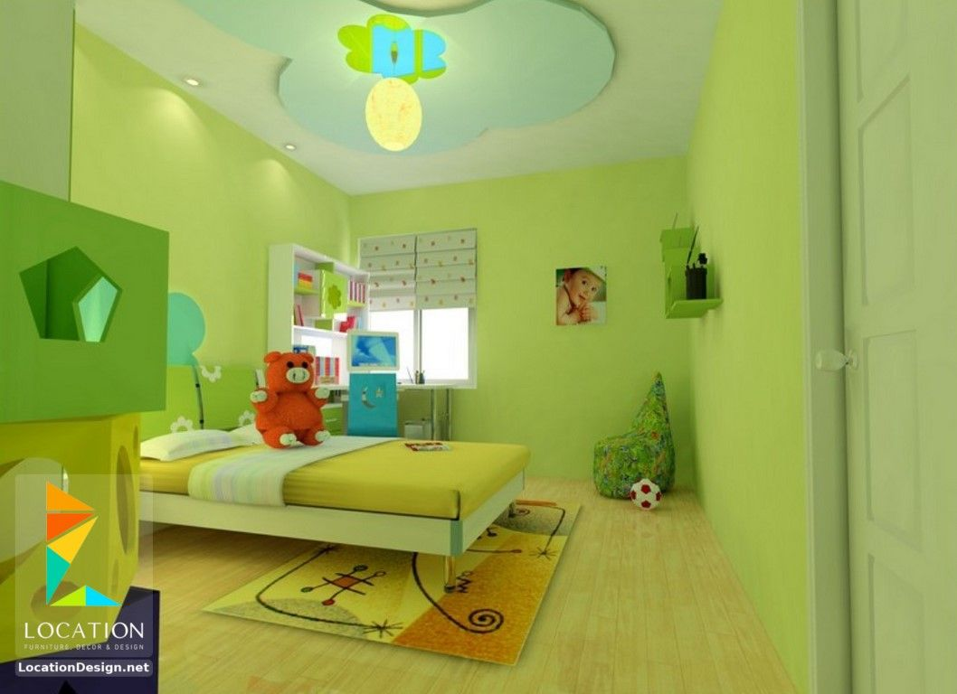 دهانات غرف نوم أطفال باللون الأخضر | غرف أطفال | Pinterest | Kidsroom
