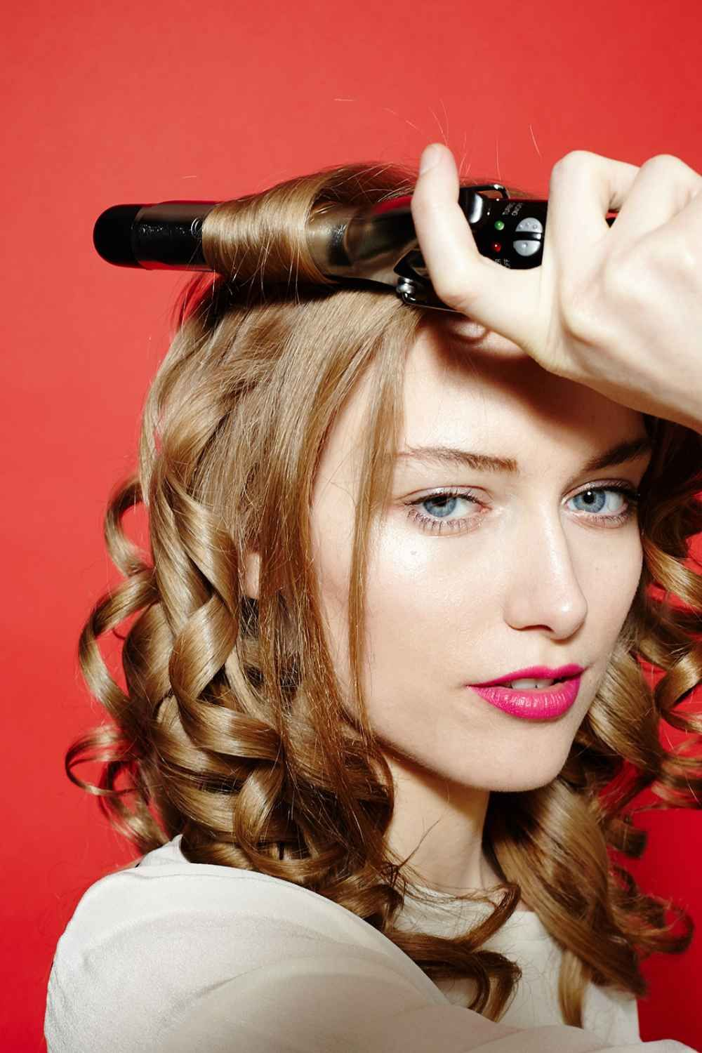 Curling Iron Hairstyles - Curly Hairstyle Guide | Curling ...