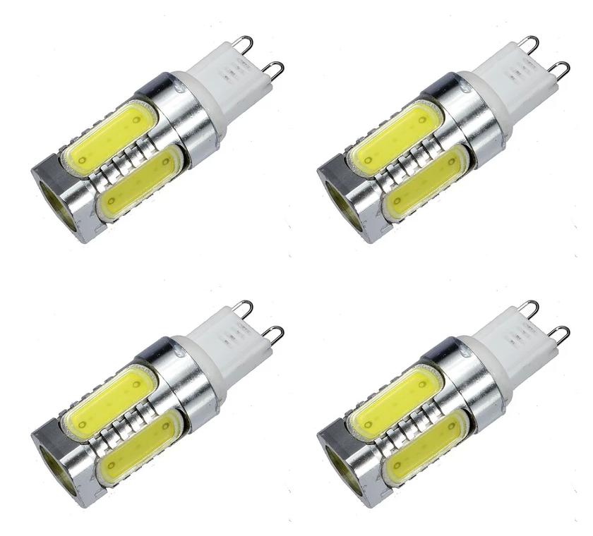 G9 Type Base Led Light Bulb 2 Pin 120v 240v Capsule Lamp 7 5w Us Uk 4 Pack Lowvoltage Energysaving Light Lamp Electron Led Light Bulb Bulb Light Bulb