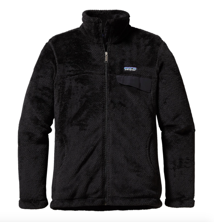 Patagonia Women's Full Zip Re Tool Fleece Jacket Black