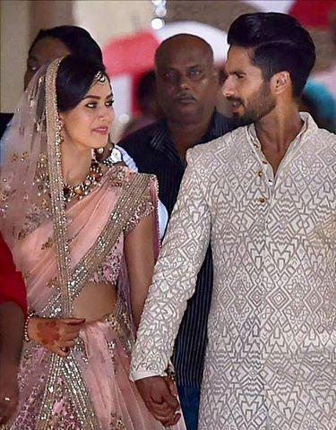 Shahid Kapoor Wedding Shahid Kapoor Wedding Indian Celebrities Bollywood Celebrities