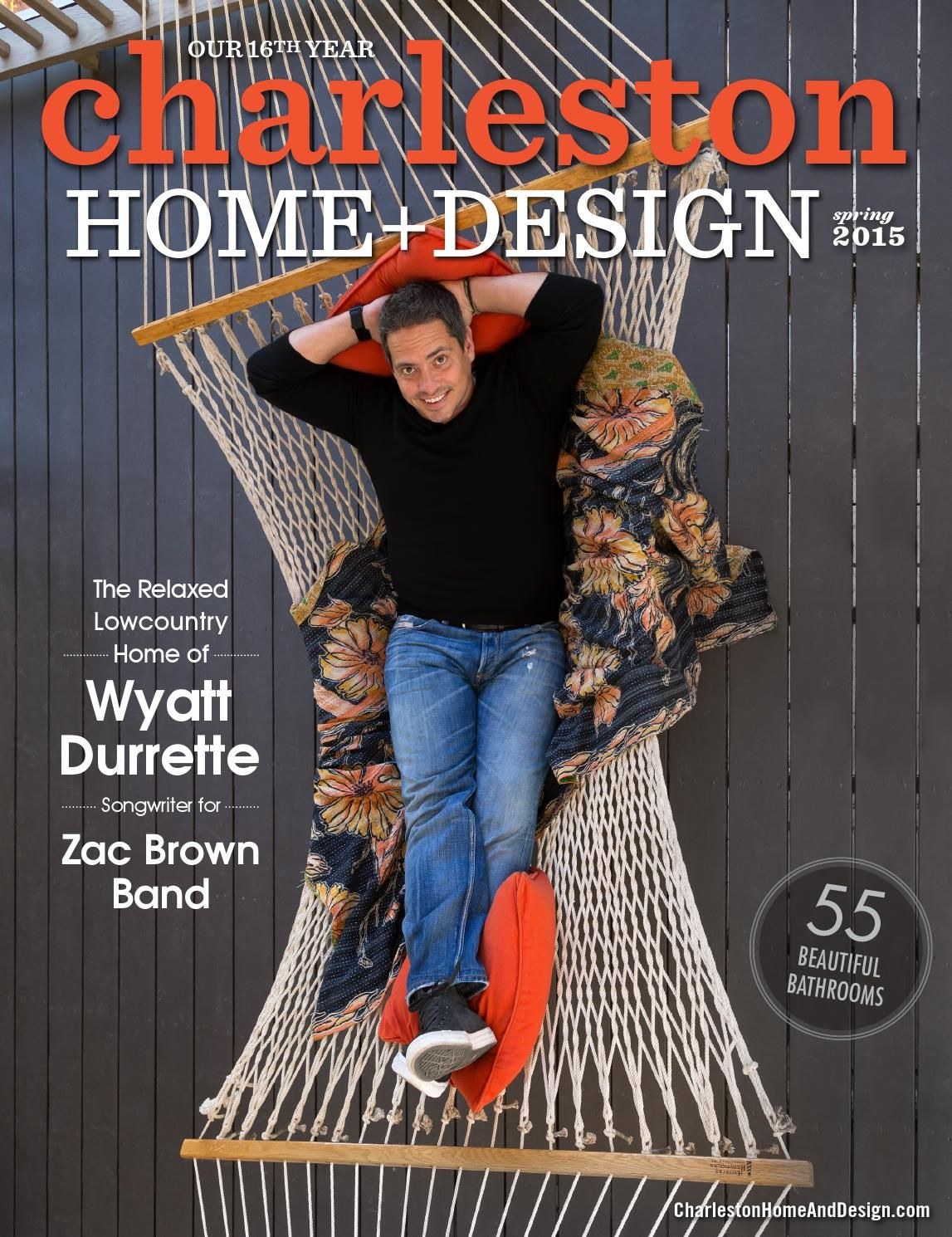 Charleston Home + Design Magazine - Spring 2015 | Zac brown band and ...