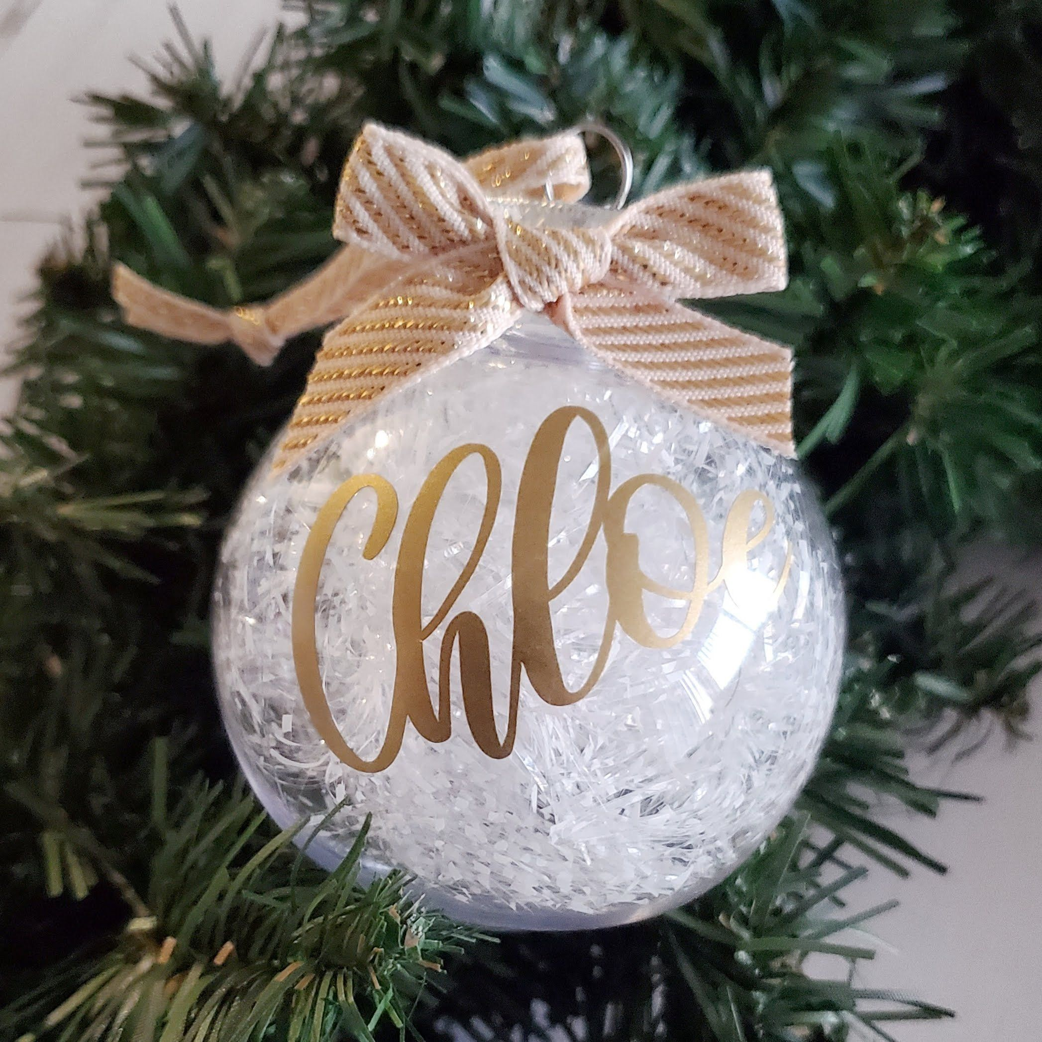 Personalized Christmas Ball Ornament Custom Christmas Ornaments Christmas Shatterproof Orn Custom Christmas Ornaments Personalized Christmas Custom Christmas