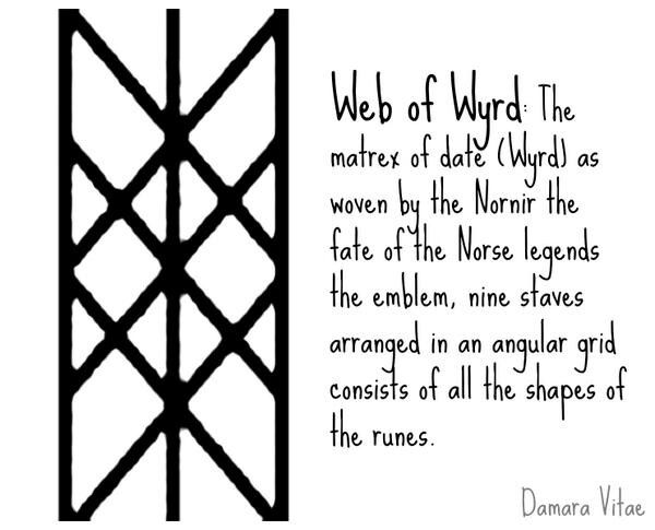 Web Of Wyrd Viking Symbols And Meanings Norse Runes Norse Symbols