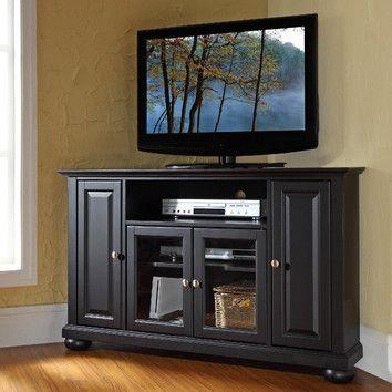 Crosley Alexandria 48 Tv Stand Wood Corner Tv Stand Corner Tv Stand Corner Tv