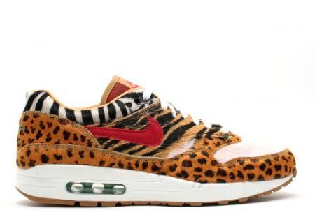 pretty nice f22f6 5ed42 Air Max 1 baratas Supremo Animal Empacar Zapatillas Nike 636 - €61.48