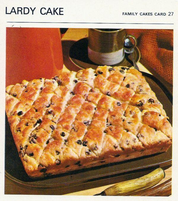 Lordy its lardy cake regrettable recipes pinterest lardy cake recipe from the vintage recipe cards website printed in canada copyright paul hamlyn ltd 1967 forumfinder Images