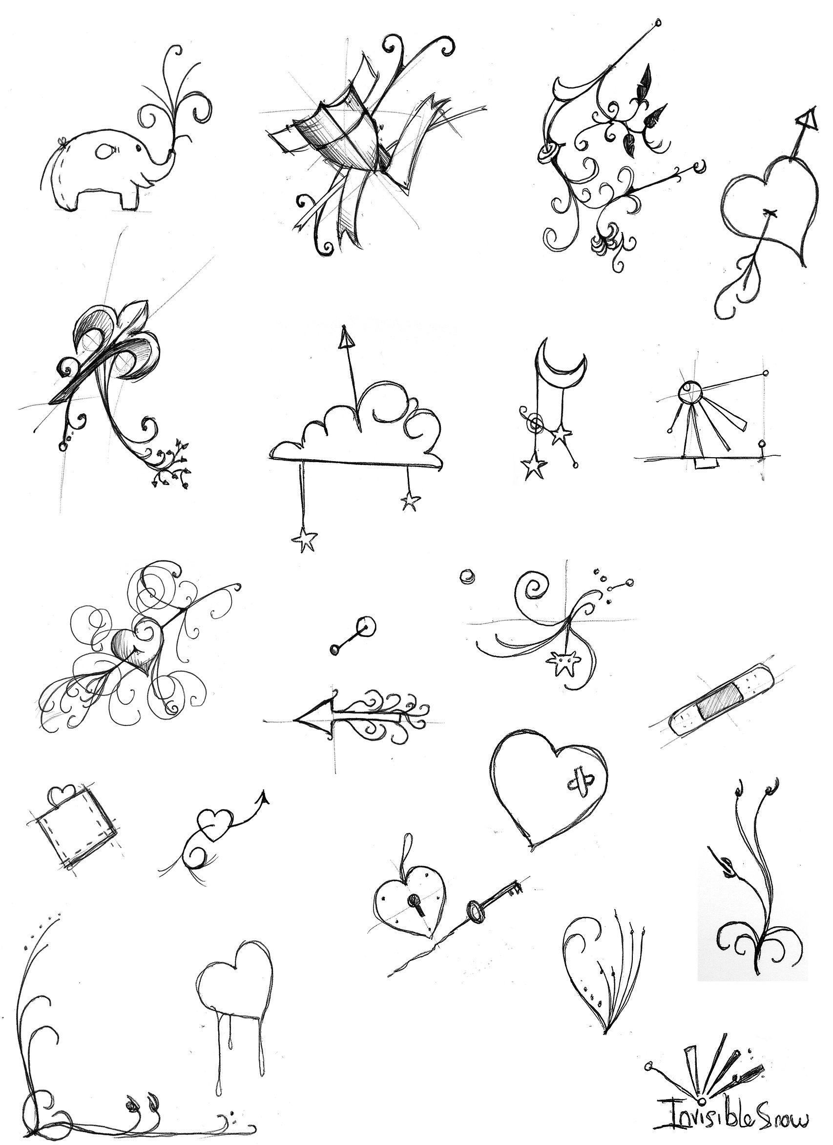 Прикольные рисунки ручкой на руке для начинающих