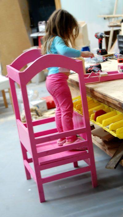 The Littlest Helper Tower Diy For Kids Learning Tower