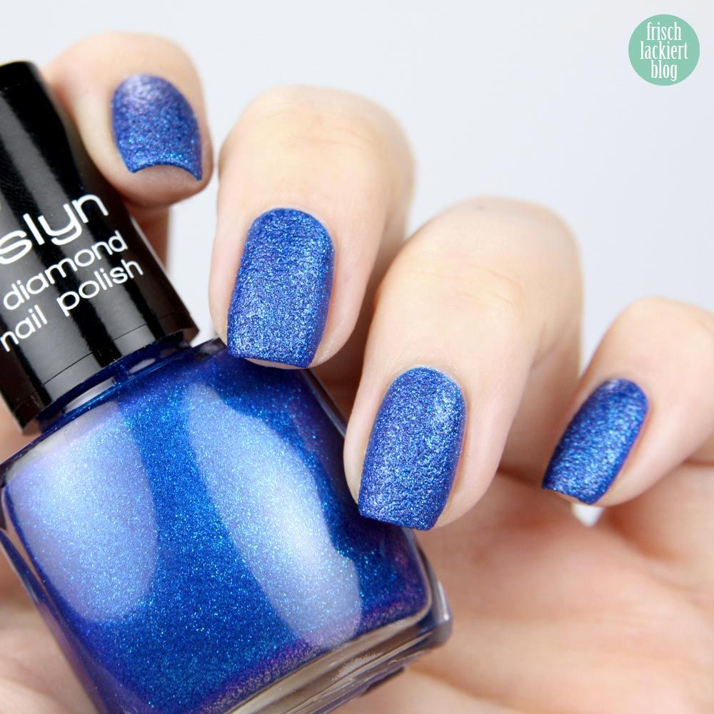 Misslyn Velvet Diamond Nr. 85 - Royal Blue - Nail Polish | Nagellack ...