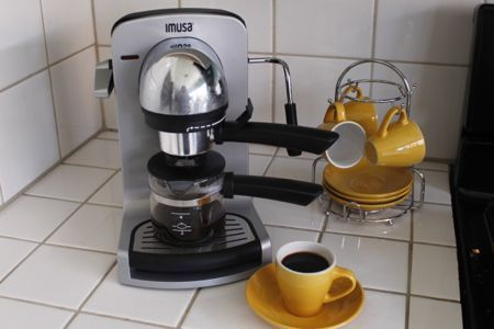 Cuban Coffee Time IMUSA Electric Espresso Machine Im Seriously In Love With It
