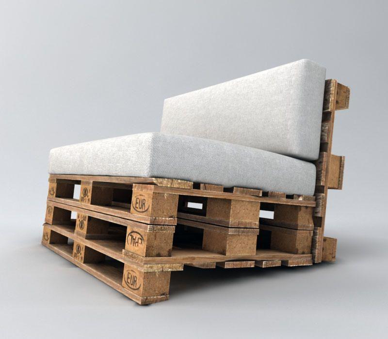 palettensofa selber bauen anleitung #palletfurniturecouch   Möbel in ...