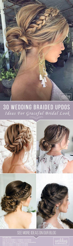 50+ Sommer Hochzeit frisuren für mittellange Haare - Braut Nägel - Bridal nails - Haaar #mediumupdohairstyles
