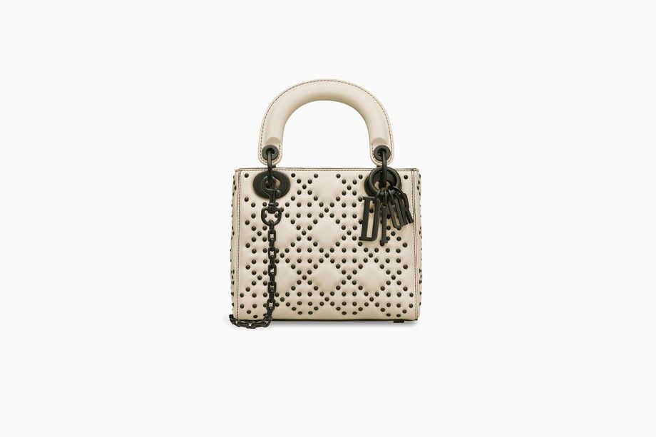 top-rated original reputable site 2019 best sell Mini Lady Dior bag in off-white calfskin - Lady Dior Dior ...
