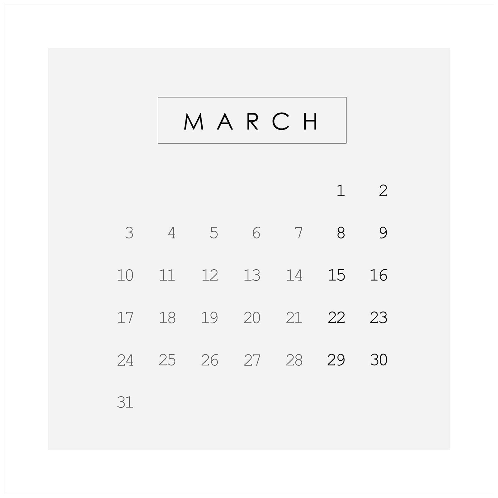 2014 Calendar Calendar Mood Boards
