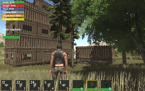 Use your building, crafting, exploration, battling and survival skills to stay alive at all cost