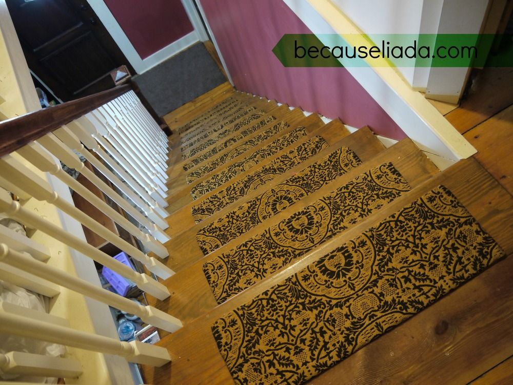Make Your Own Carpet Stair Treads Pads