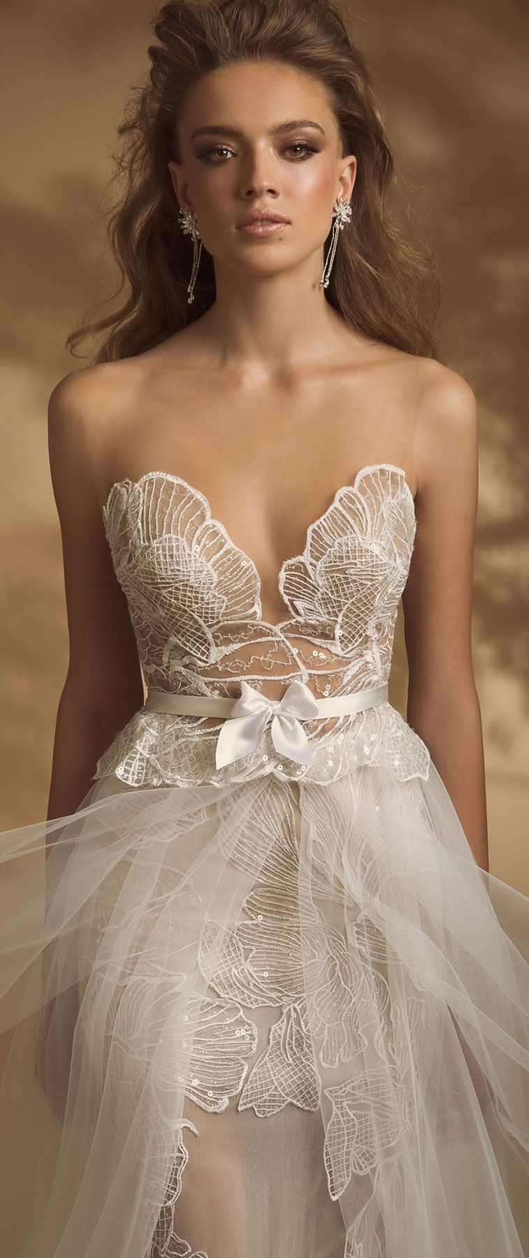 Sweetheart neckline heavy embellishment a line wedding dress #wedding #weddingdress #weddinggown