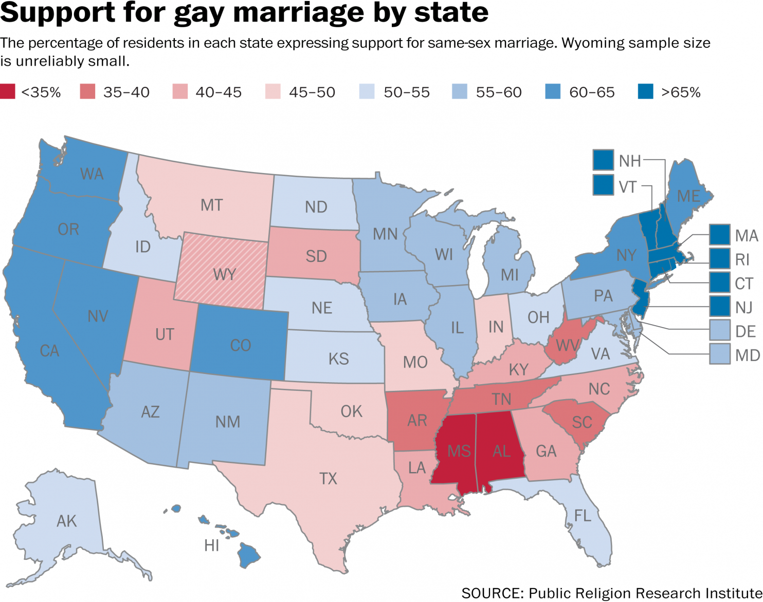 states and gay marriage