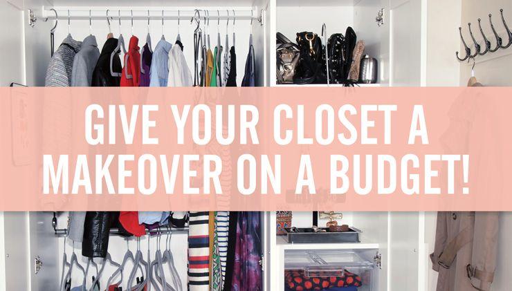 Closet Makeover 9 Tips To Make Over A Small Closet On A