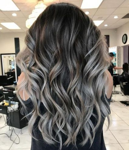 10 hair Balayage cenizo ideas