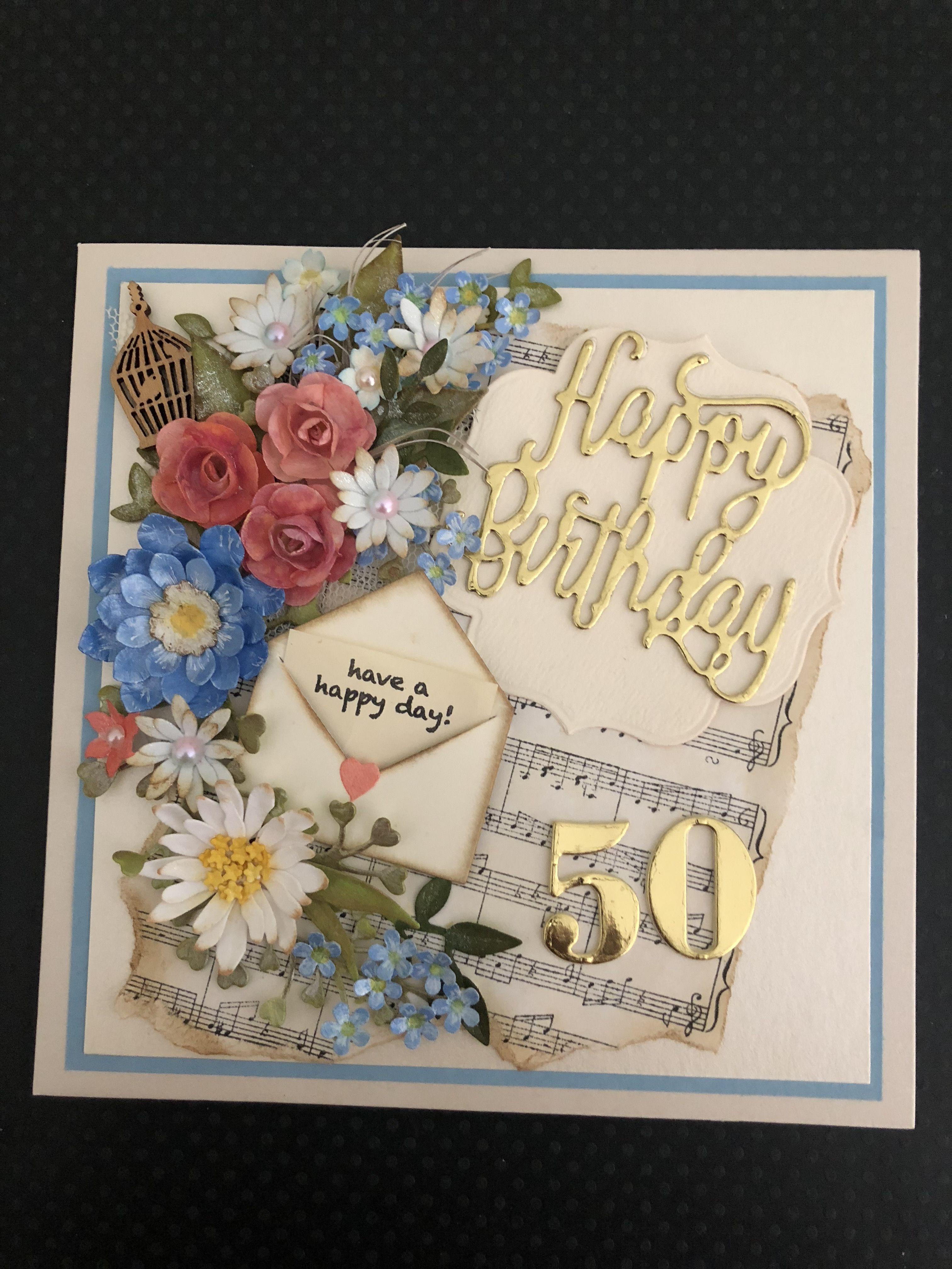 50th birthday cardelizabeth