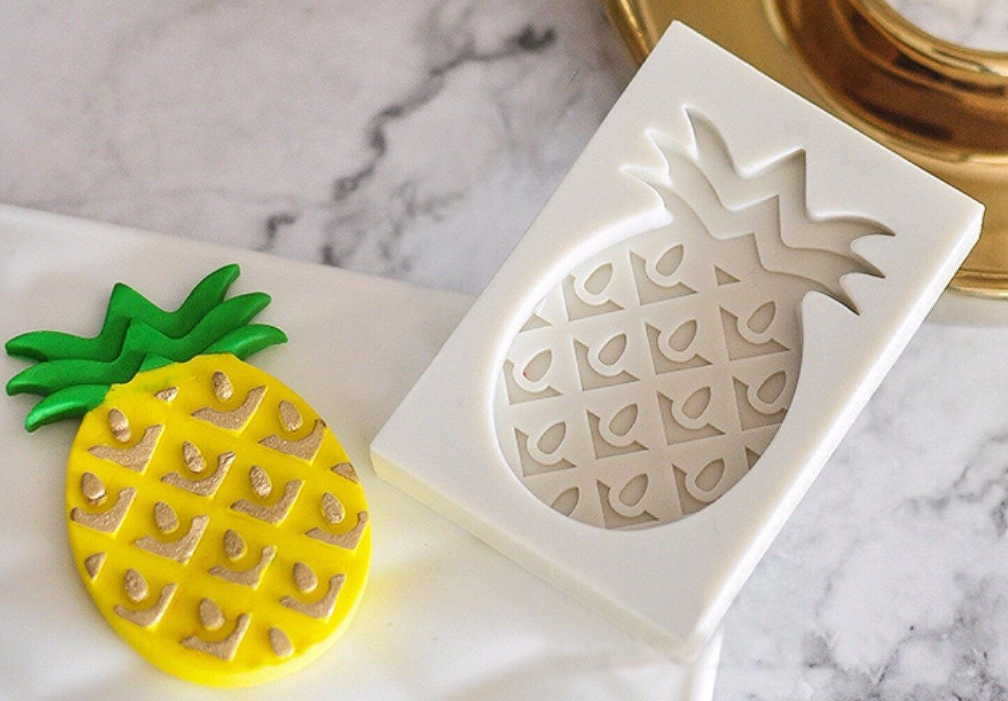 Pineapple Tropical Chocolate Mould