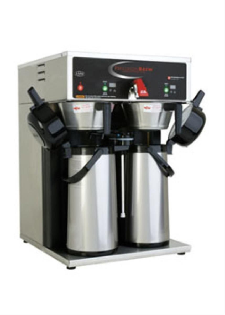 Treat Your Customers To The Quality Of Coffee They Desire And Deserve With A Brand New Grindmaster B Dap Precisionbrew Coffee Maker Coffee Coffee Machine Best