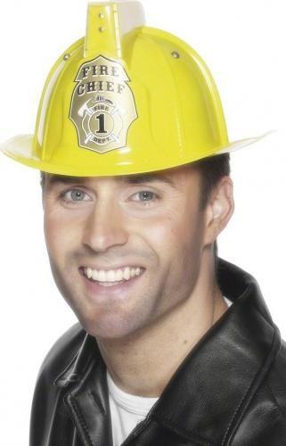 #Casco da pompiere per adulto giallo  ad Euro 10.99 in #Casco #Maschere e costumi