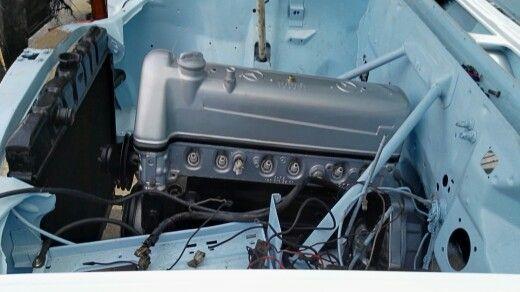Motor y radiador