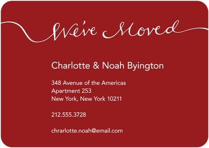 Simple could be business card size we moved inspiration christmas cards shutterfly business card sizebusiness cardscustom colourmoves