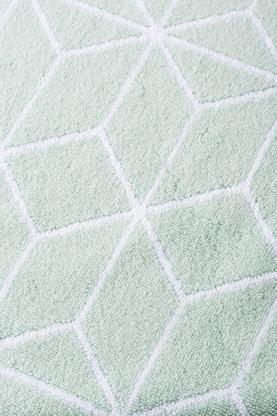 Affiliatelink Home Badematte Bio Baumwolle Gemustert 50 X 70 Cm Mintgrun Skandinavisch Design Badewanne Mit Dusche Teppich Wohnzimmer Badematte