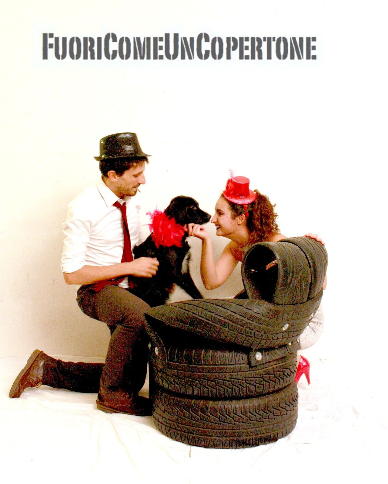 Andrea, Moka e Zoeper Fuori Come Un Copertone. #degonflage #fuoricomeuncopertone #pneumatici #poltrone #family