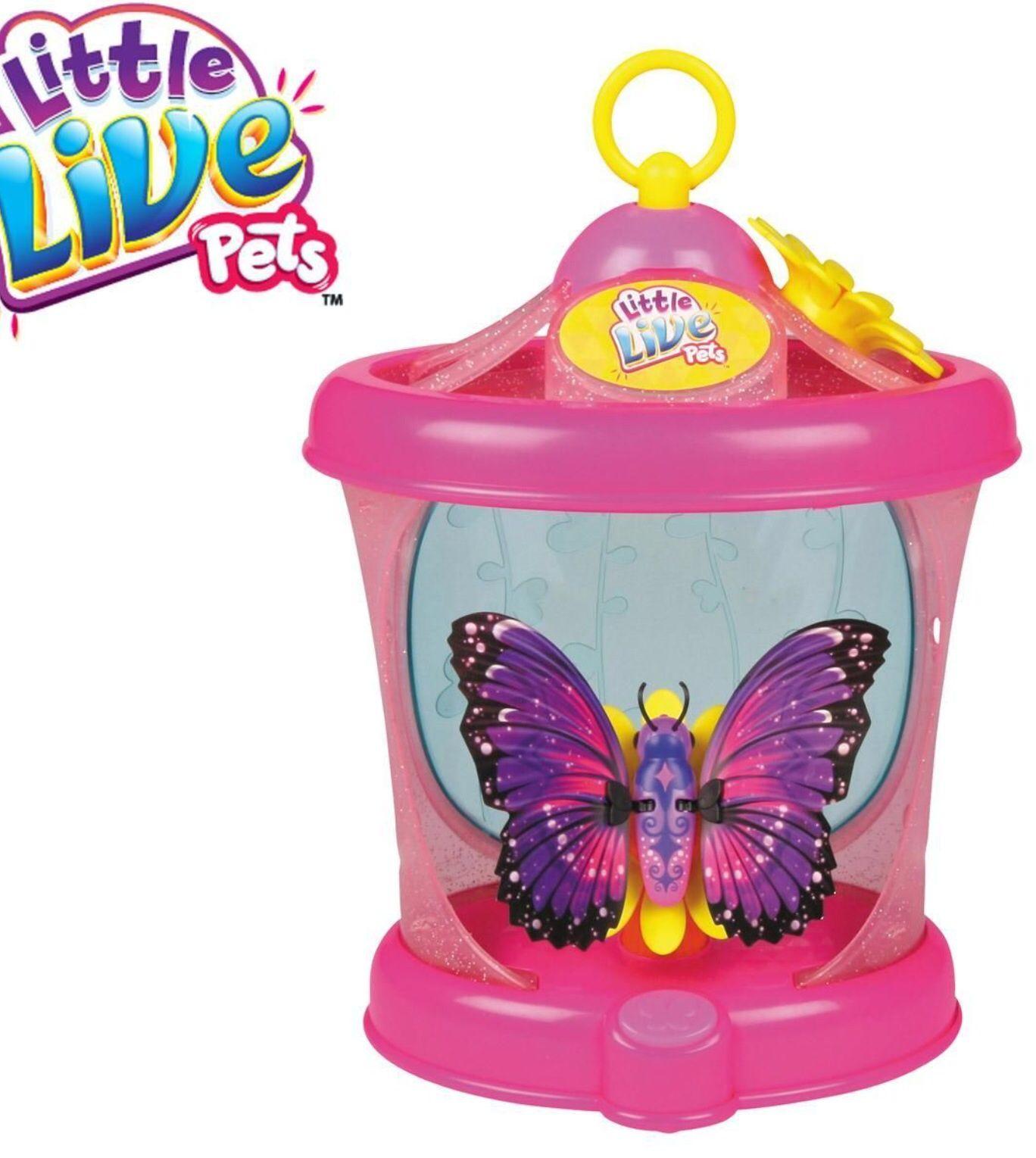 Toys Pets Butterflies Butterfly Kids Gift Present Little Live Pets Jojo Bows Love Pet