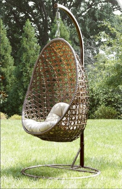 Ty Pennington Style Mayfield Hanging Chair With Stand*   Outdoor Living    Patio Furniture   Ty Pennington Style