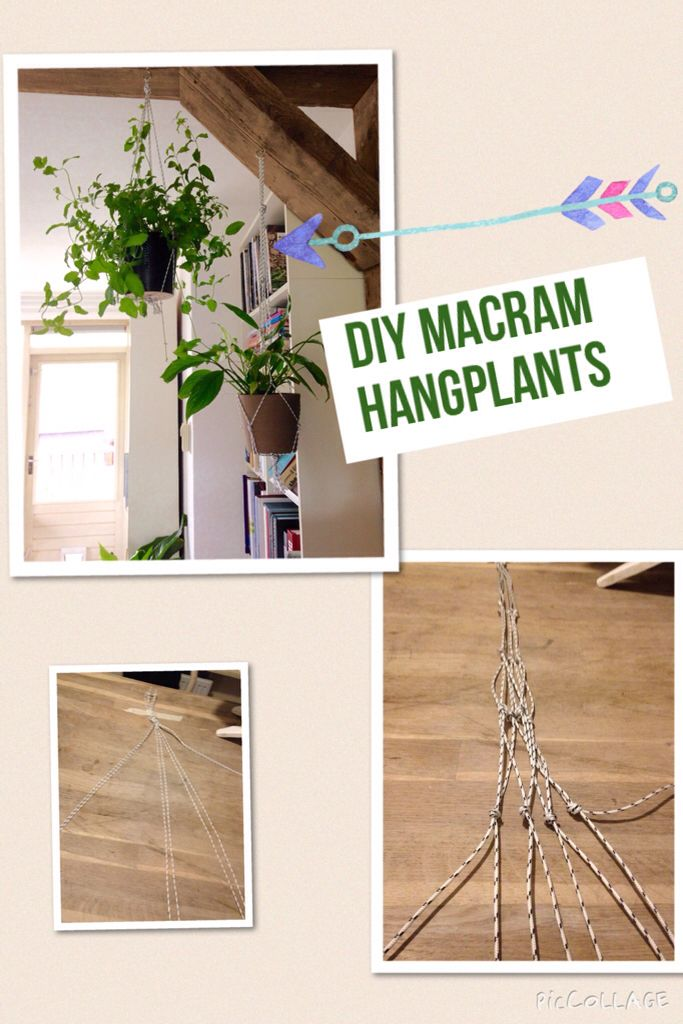 Diy Hangplant Action Touw Leuke Pot Hangplant Check De Diy