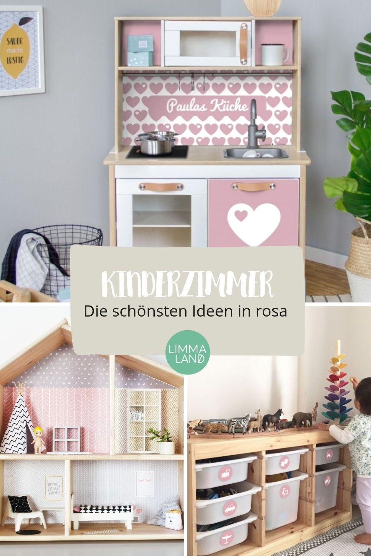 Diese Kinderzimmer Ideen machen einen rosa Zimmertraum