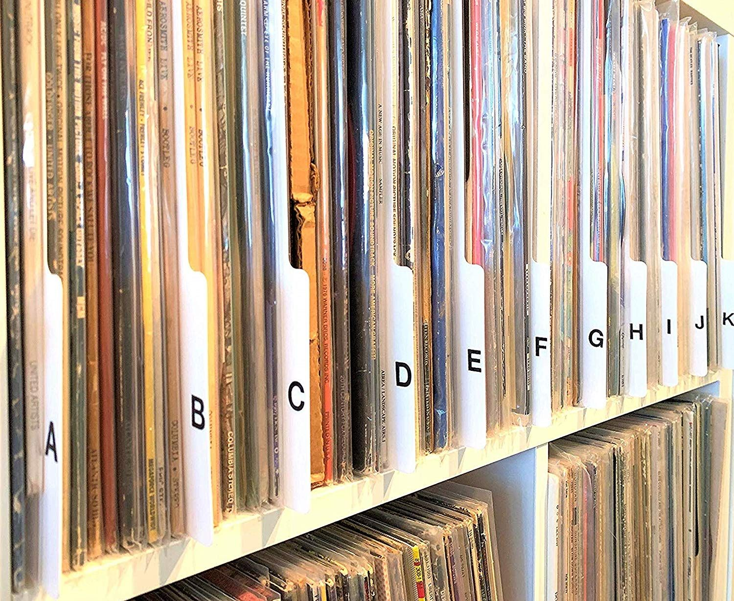 A To Z Lp Vinyl Record Dividers In 2020 Vinyl Records Record Dividers Vinyl Record Album