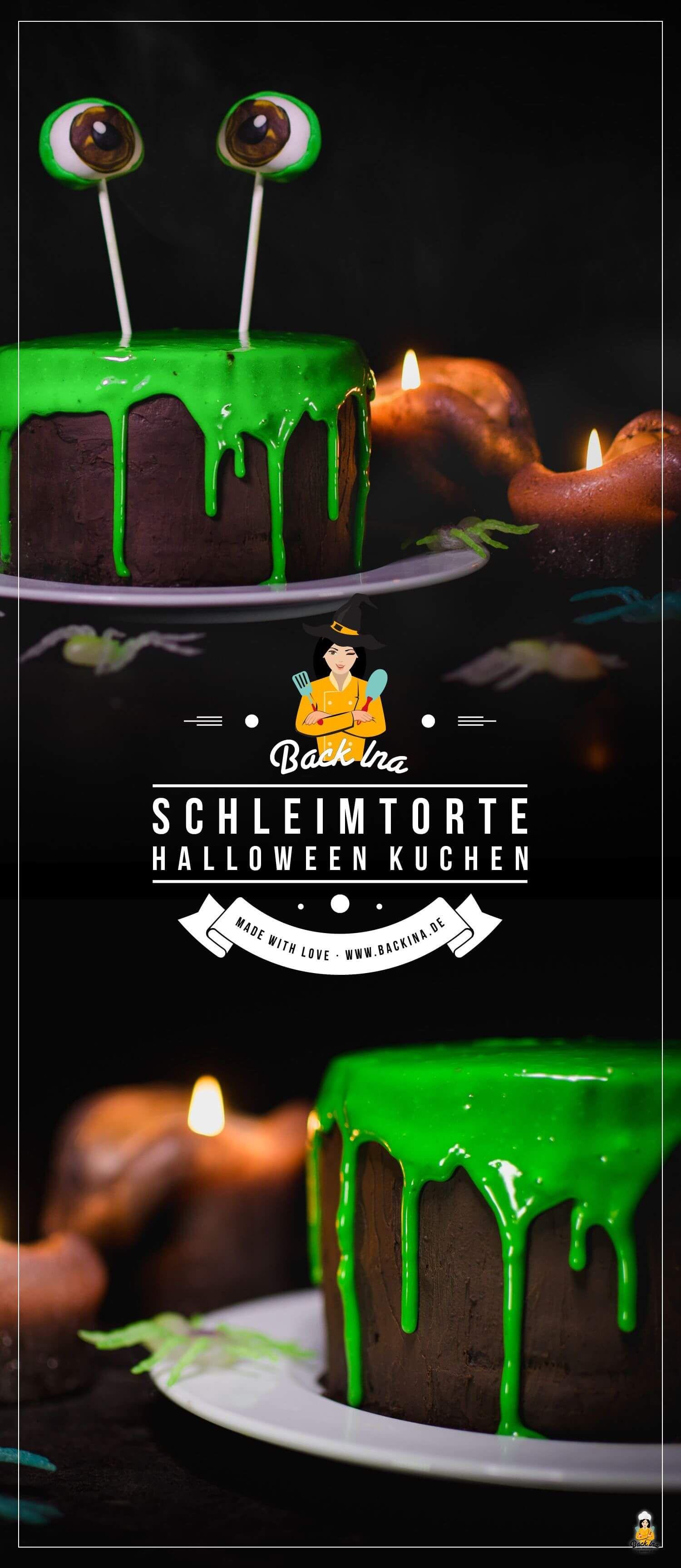 Schleim Torte: Einfache Halloween Torte mit großer Wirkung ...