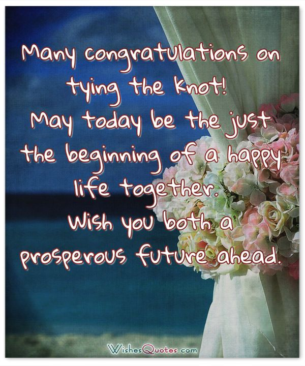 Wedding Quotes Funny Wishes: Romantic Wedding Wishes And Heartfelt Cards For A Newly