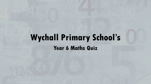 2016 SATs Maths Revision Quiz | Primary: KS2 SATs | Pinterest | Sats ...
