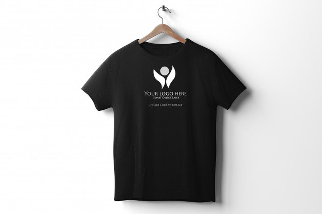 Download View Of A Black T Shirt Mockup Paid Ad Paid Black Shirt Mockup View Shirt Mockup Black Tshirt Shirts