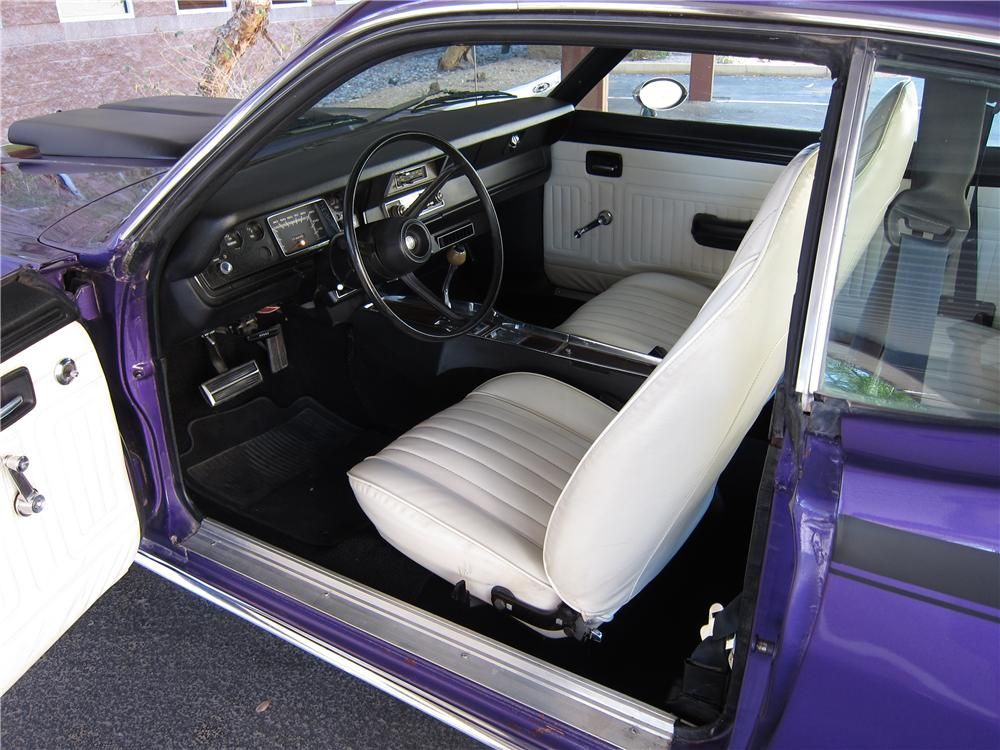 1974 Plymouth Duster 2 Door Hardtop Interior 131051 Plymouth Duster Plymouth Barrett Jackson