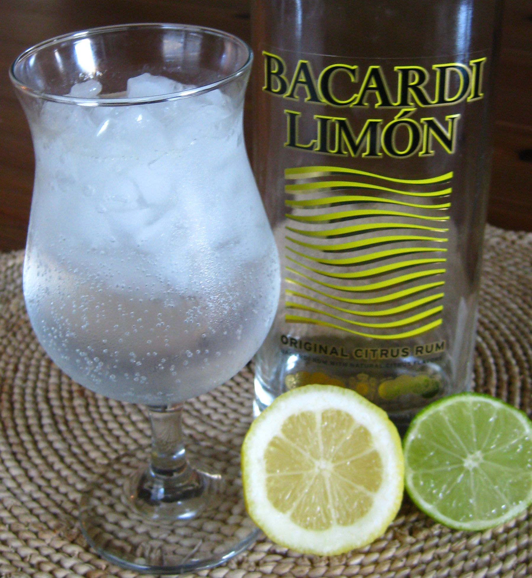 Lemon Lime Bacardi- Getting Ready For Summer Sipping