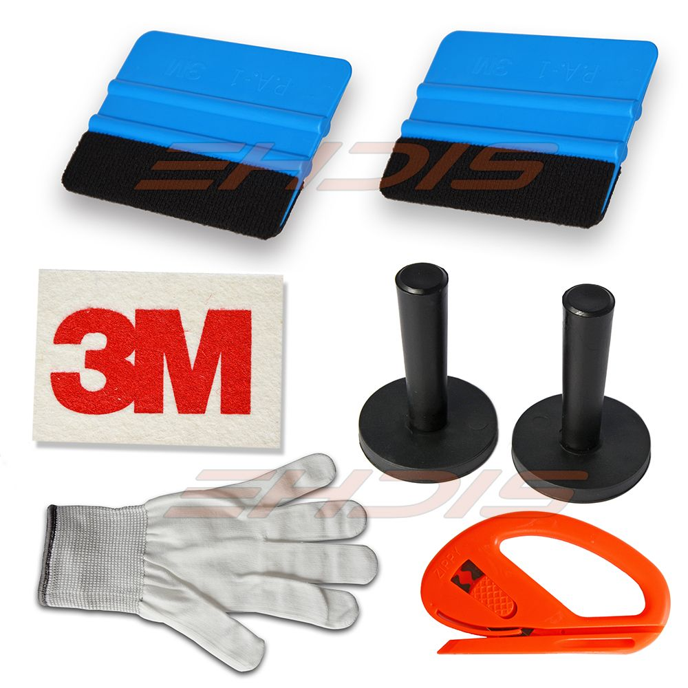 8 Tint Tools Kit Magnets Felt Scraper 3m Wool Squeegee Vinyl Cutter Gloves Car Wrap Tools Kit Carbon Fiber Vinyl Tools Vinyl Wrap Car Vinyl Wrap Vinyl Cutter