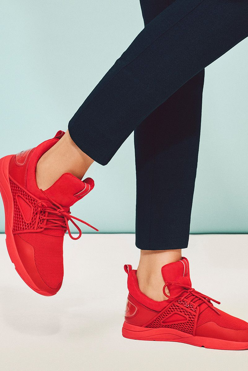 127b8a74 Aldo - Zeaven Get a move on the athleisure trend in our star sneaker of the  season.