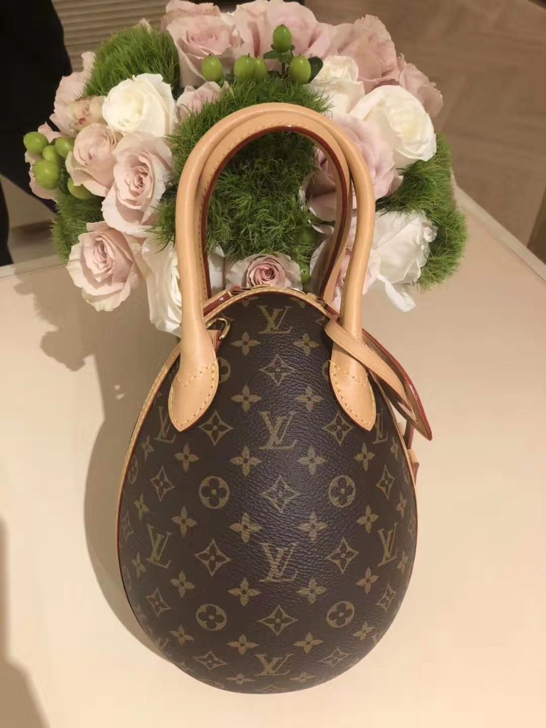 Louis Vuitton Monogram Lv Egg Bag M44587 Louisvuittoneggbag