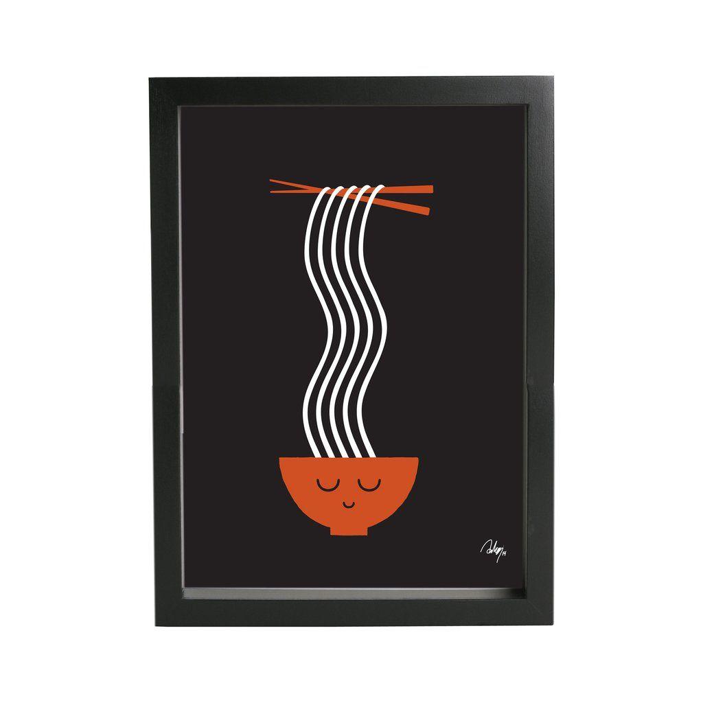 Studio Arhoj Ramen Print for Umami Mart